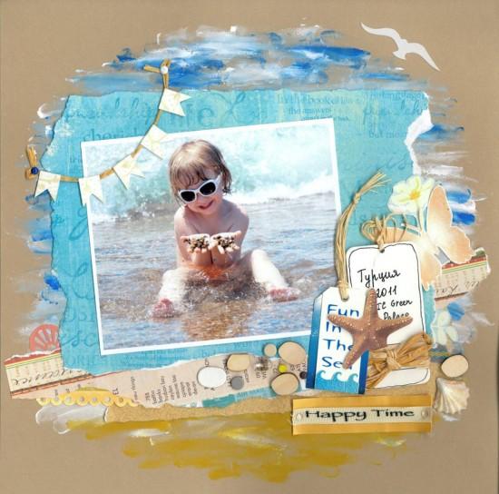 Детская фотосессия в морском стиле.3