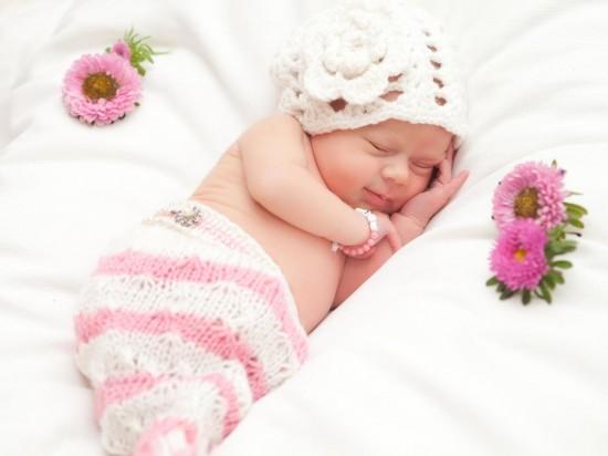 Первое знакомство младенца с домом
