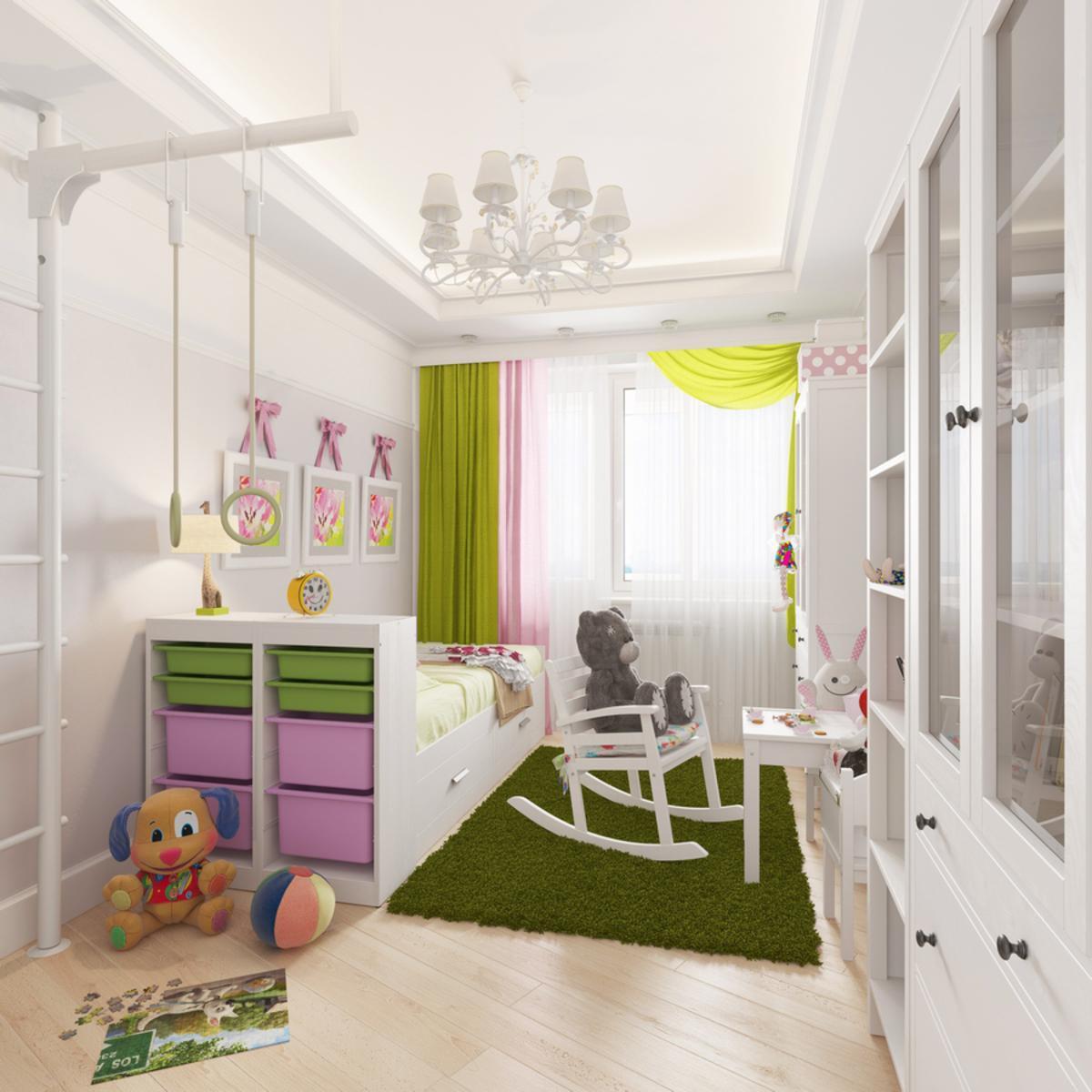 Дизайн-проект детской комнаты под ключ