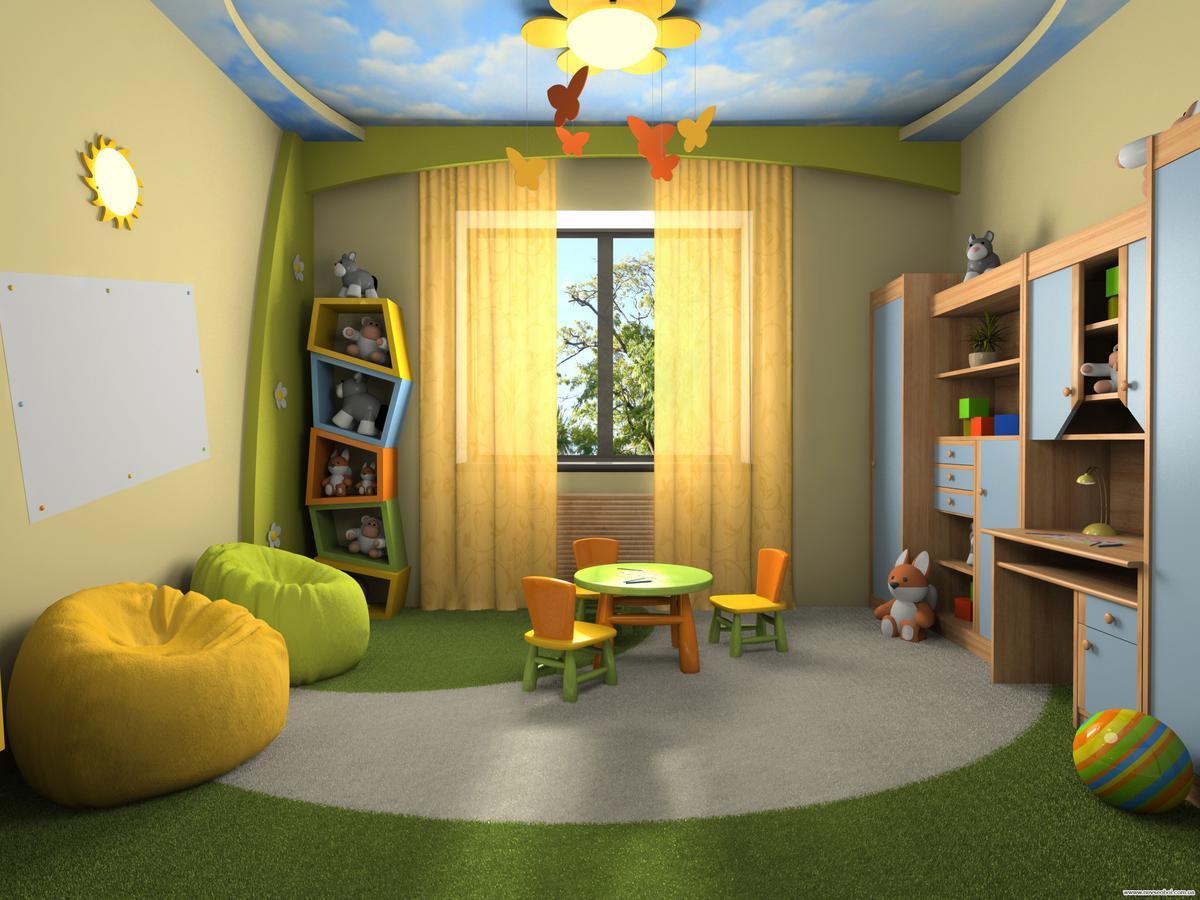 Как сделать недорогой ремонт в детской