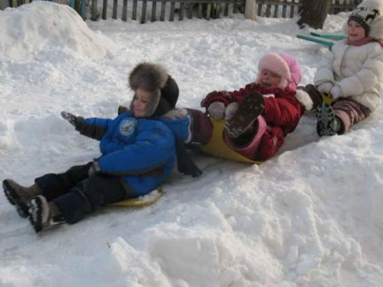 Подвижные игры – замечательный способ времяпровождения с детьми зимой2