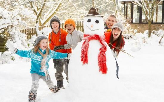 Подвижные игры – замечательный способ времяпровождения с детьми зимой3