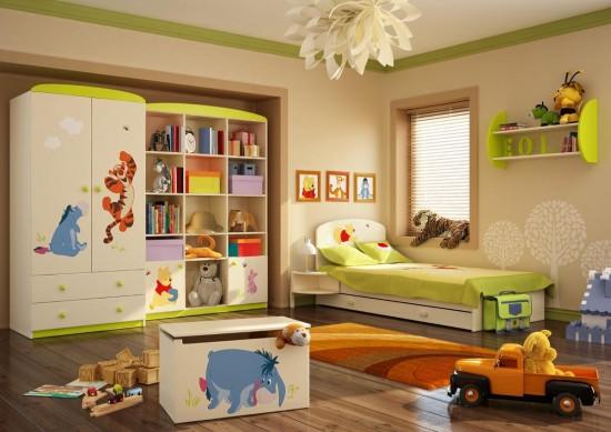 Радуга света в детской комнате2