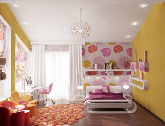 Радуга света в детской комнате3