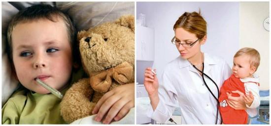Что делать, если у маленького ребенка повысилась температура?2